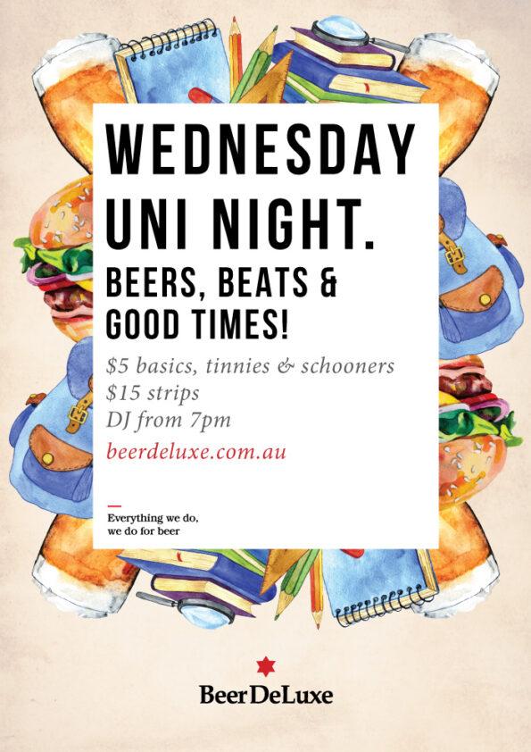 Wednesday Uni Night