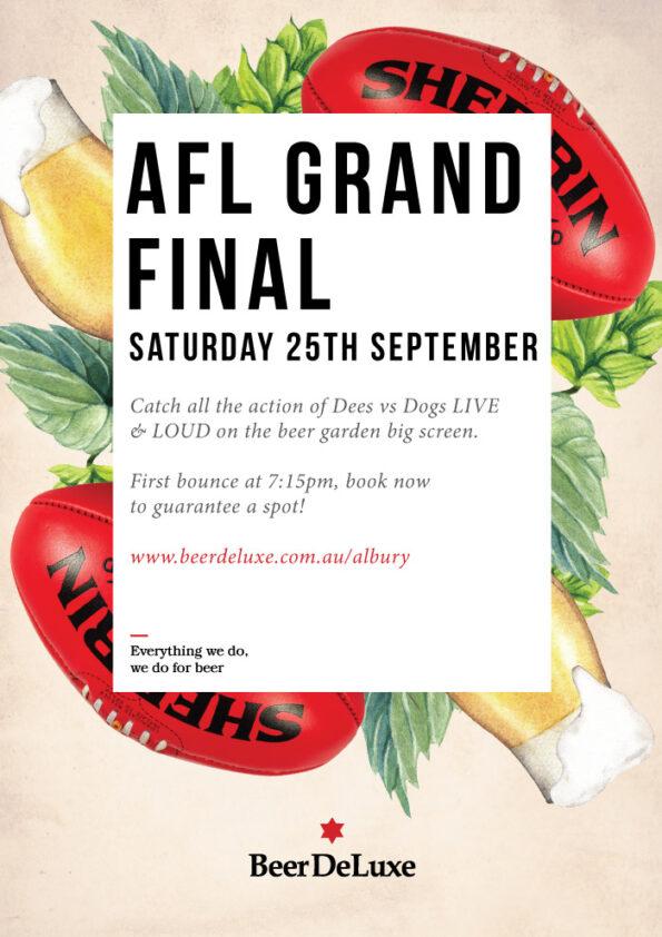 AFL Grand Final - Saturday 25th September