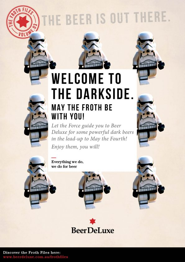Welcome to the Dark Side - Beer Deluxe