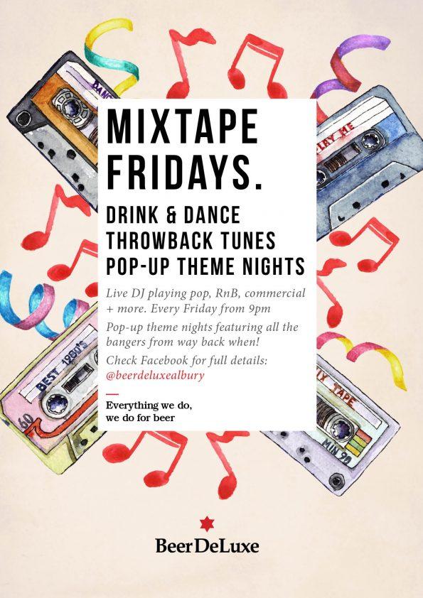 Mixtape Fridays - Beer Deluxe