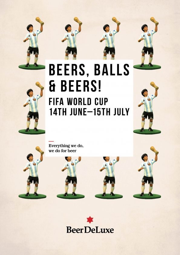FIFA World Cup at Beer deLuxe