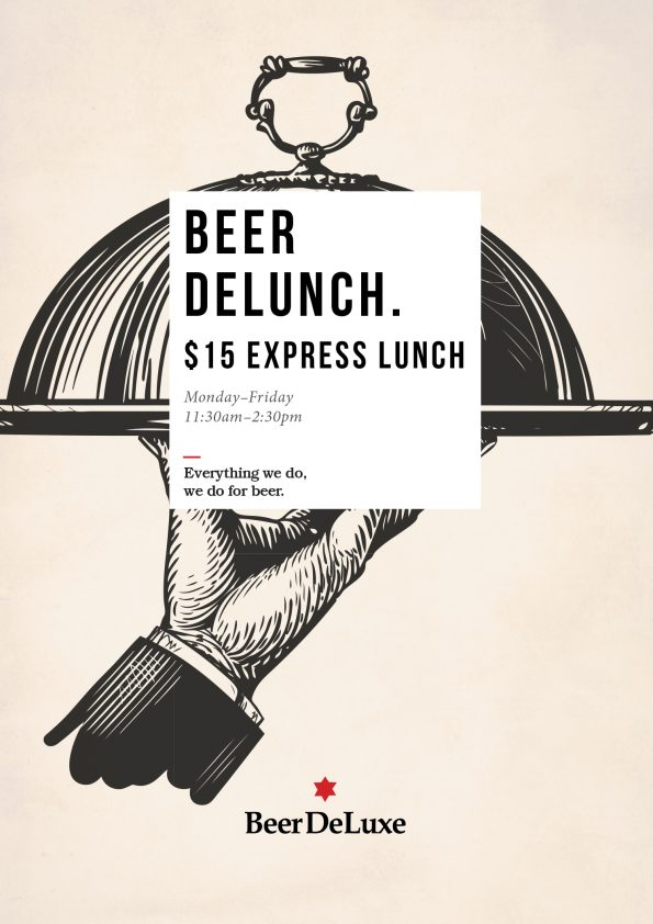 Beer Delunch Special