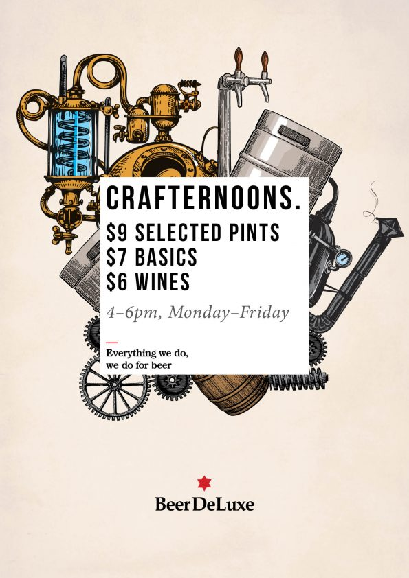 Crafternoons - Beer Deluxe Fed Square
