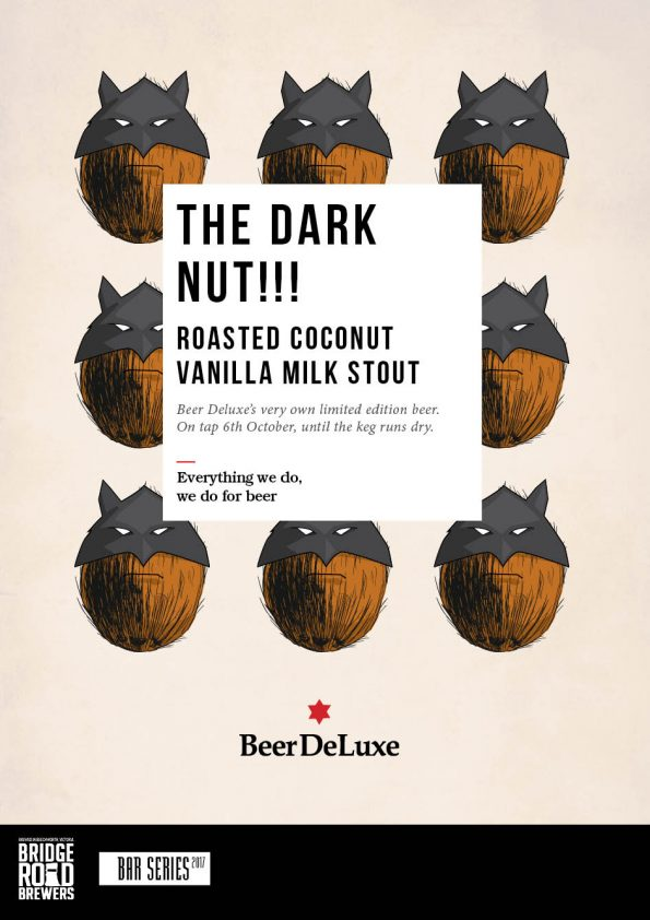 The Dark Nut Limited edition beer