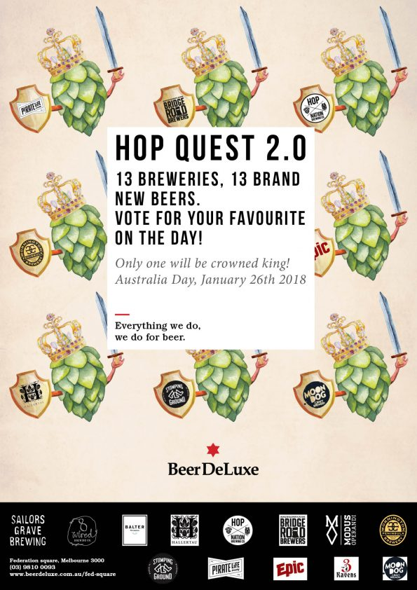 Beer Deluxe Fed Square - Hop Quest 2.0