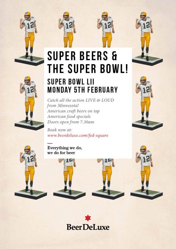 Super Bowl 2018 - Beer Deluxe
