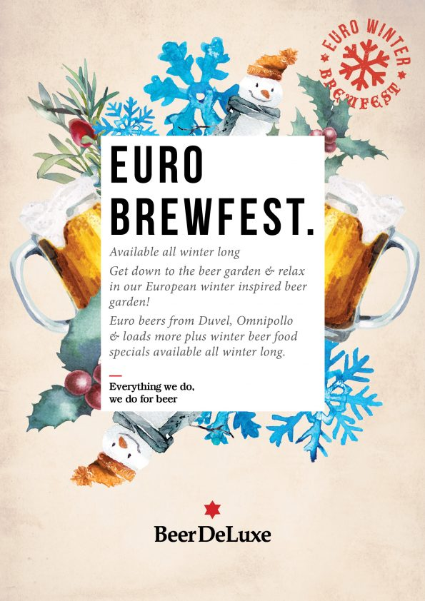 Euro Brewfest at Beer DeLuxe Fed Square