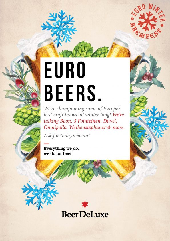 Euro Beers At Beer DeLuxe Fed Square