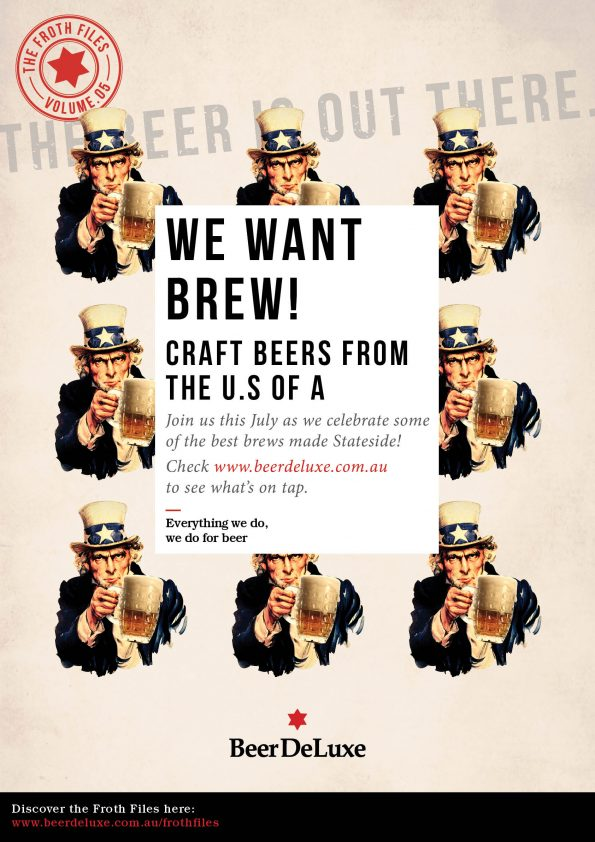 Froth Files - We Want Brew - Craft Beers from the U.S of A