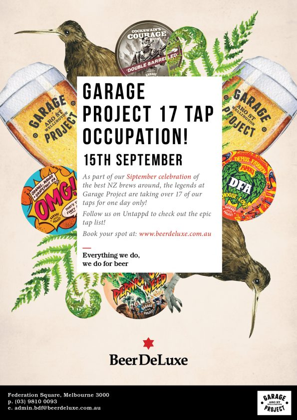 Siptember - Garage Project Tap Takeover