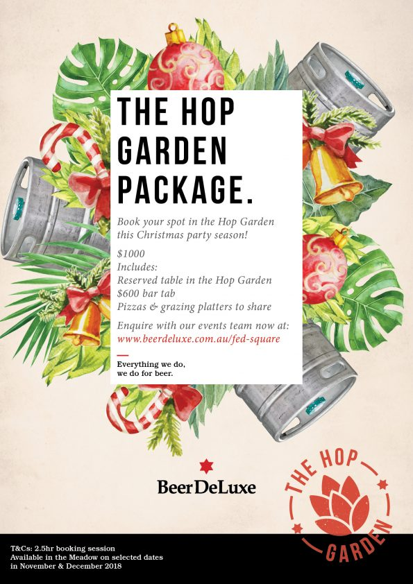 Beer DeLuxe Fed Square Hop Garden Package