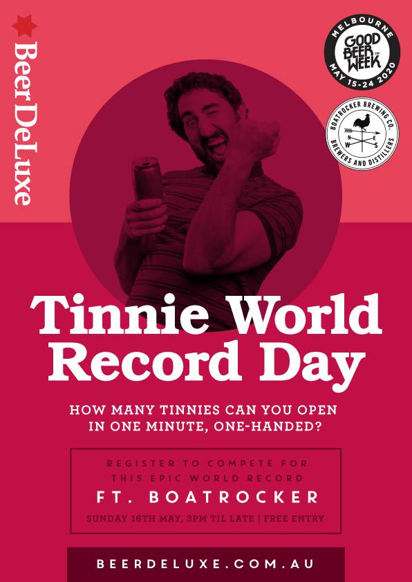 Tinnie World Record Day