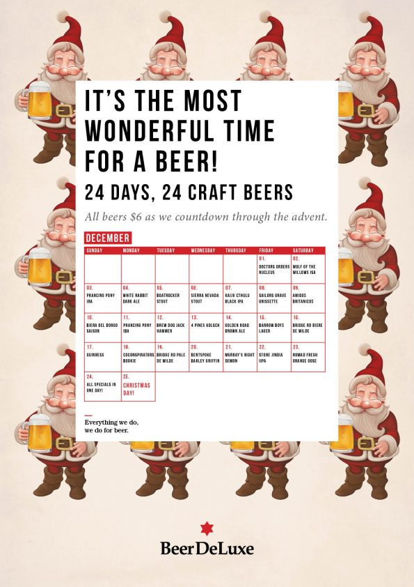24 days 24 craft beers hawthorn for Craft beer advent calendar 2017