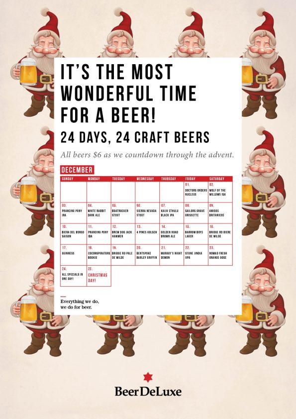 Beer DeLuxe Hawthorn Advent Calendar