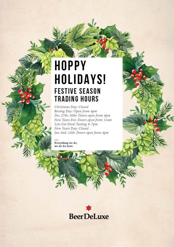 Festive Season Trading Hours Beer Deluxe Hawthorn