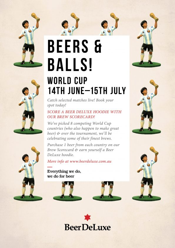 World Cup at Beer DeLuxe Hawthorn