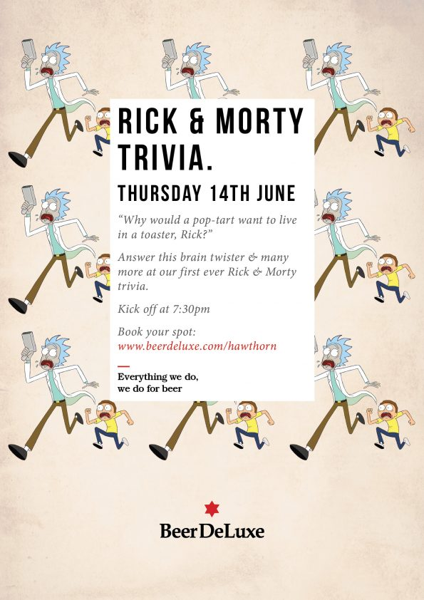 Rick & Morty Trivia Night