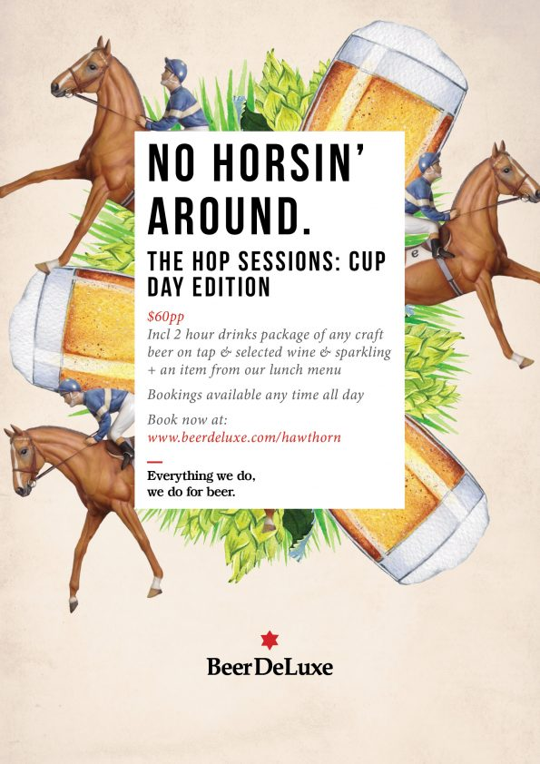 Melbourne Cup Day 2018 - Beer DeLuxe Hawthorn
