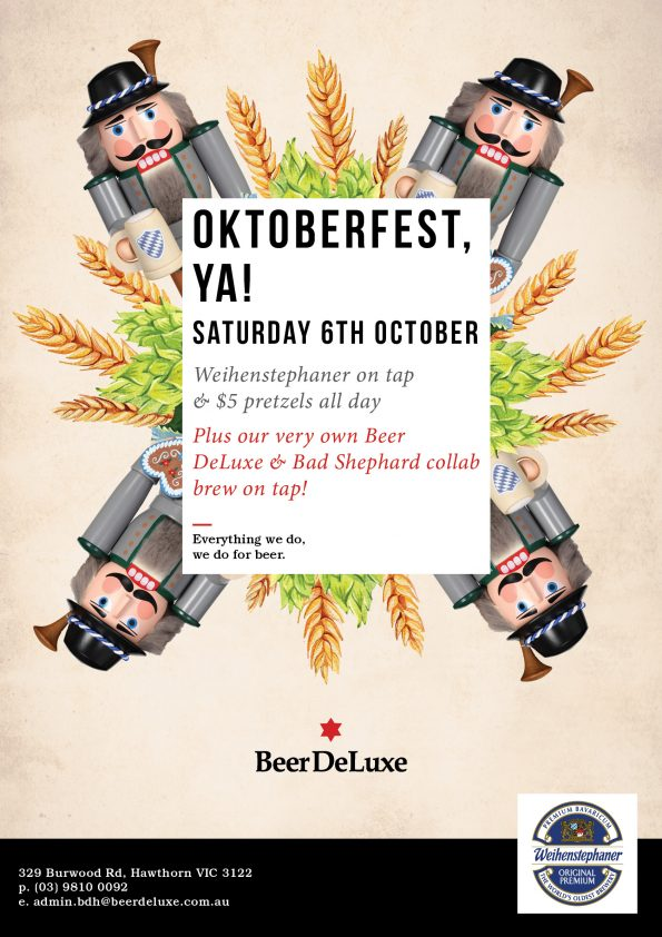 Oktoberfest at Beer DeLuxe Hawthorn