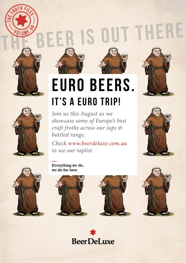 The Froth Files, Volume 6: Euro Beers!